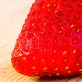 Strawberry Up Close Stock Photography