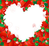 Strawberry valentine2 Royalty Free Stock Photos