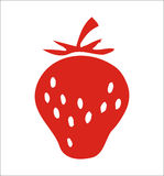 Strawberry + vector file Royalty Free Stock Images