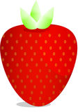 Strawberry vector Stock Images