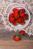 Strawberry vintage Stock Image