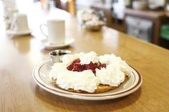Strawberry waffle Royalty Free Stock Image