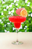 Strawberry Watermelon Daiquiri Royalty Free Stock Photography