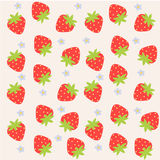 Strawberry web background Stock Images