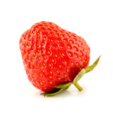 Strawberry on a white Royalty Free Stock Image
