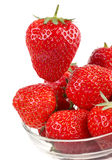Strawberry on white Stock Photography