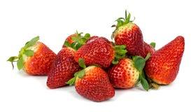 Strawberry on white background Stock Photo