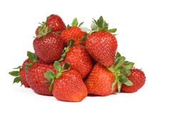Strawberry on white background Stock Photography