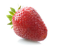 Strawberry on white background Stock Images