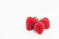 Strawberry. On white background Stock Image