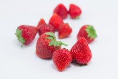 Strawberry. On white background Royalty Free Stock Photos