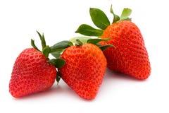 Strawberry  on white background. Fresh berry. Stock Photo