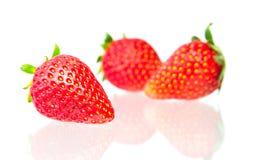 Strawberry  on  white background. Strawberry fruits,  on white background Stock Photo