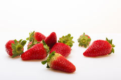 Strawberry on a white background Stock Images