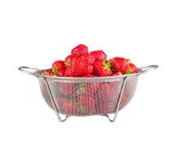 Strawberry on white background Royalty Free Stock Image