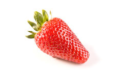 Strawberry on white Royalty Free Stock Image