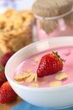 Strawberry Yogurt Royalty Free Stock Image