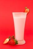 Strawberry yogurt drink Royalty Free Stock Image