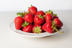 StrawberryBowl2 Royaltyfri Bild