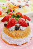 strawberrycake Arkivbilder