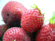 Strawberrys. Some strawberrys Royalty Free Stock Images