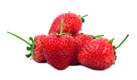 Strawberrys isolate with white backgorund Royalty Free Stock Images
