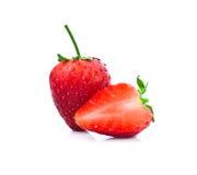 Strawberrys isolate on white backgorund Stock Image