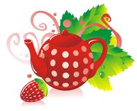 StrawberryTea Stock Images