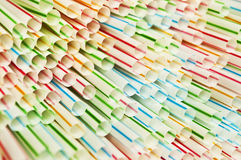 Straws Stock Photo