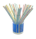 Straws Stock Photos