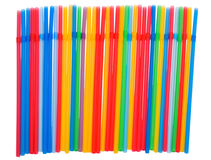 Straws cocktail Royalty Free Stock Image