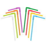 Straws for a cocktail Stock Photography