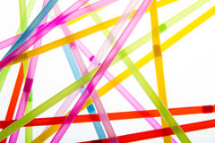 Free Straws In Random Abstract Shapes Stock Photography - 29434092