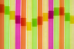 Straws looking like equalizer Royalty Free Stock Photos