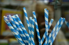 Straws for the party Royalty Free Stock Photos