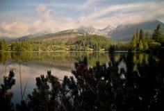 Strba Tarn in High Tatras. Royalty Free Stock Photo