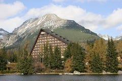 strbske pleso озера Стоковая Фотография