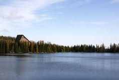 strbske pleso озера Стоковое Изображение RF
