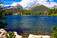 Strbske Pleso - 2 Royalty Free Stock Photo