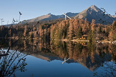 Strbske pleso Royalty Free Stock Photos