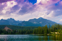 Strbske pleso Royalty Free Stock Images
