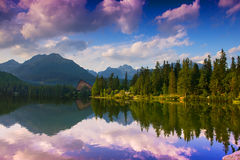 Strbske pleso Royalty Free Stock Photo
