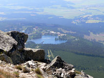 Strbske pleso in The High Tatr Royalty Free Stock Images