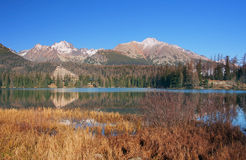 Strbske Pleso, High Tatras, Slovakia Stock Photo
