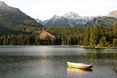 Strbske Pleso, High Tatras mountains, Slovakia Stock Photo