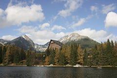 Strbske Pleso - lago Fotografie Stock