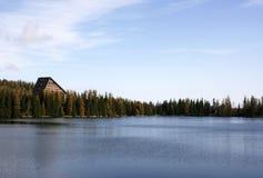 Strbske Pleso - lago Immagine Stock Libera da Diritti