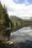 Strbske Pleso - lago Immagini Stock