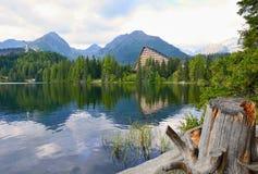 Strbske Pleso lake Stock Photography