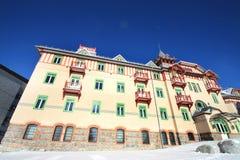 Strbske Pleso luxury building royalty free stock photos